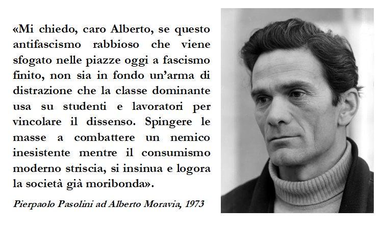 Pasolini a Moravia sul fascismo, 1973