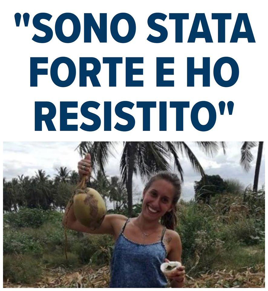 Silvia Romano: sono stata forte e ho resistito