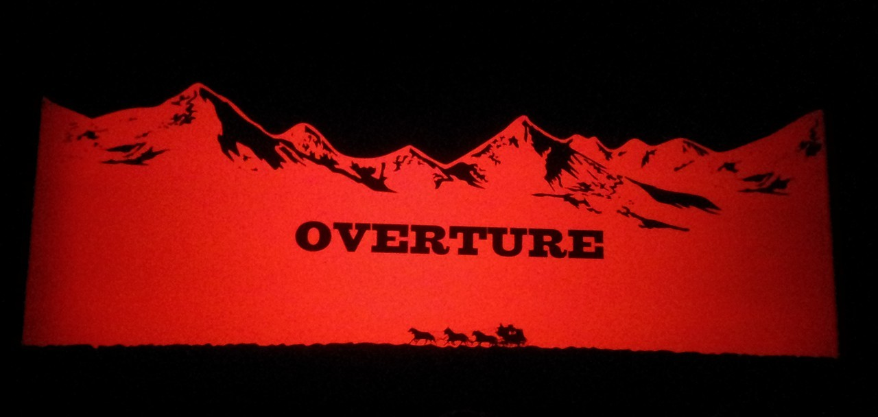 The Hateful Eight Overture di Ennio Morricone al Cinema