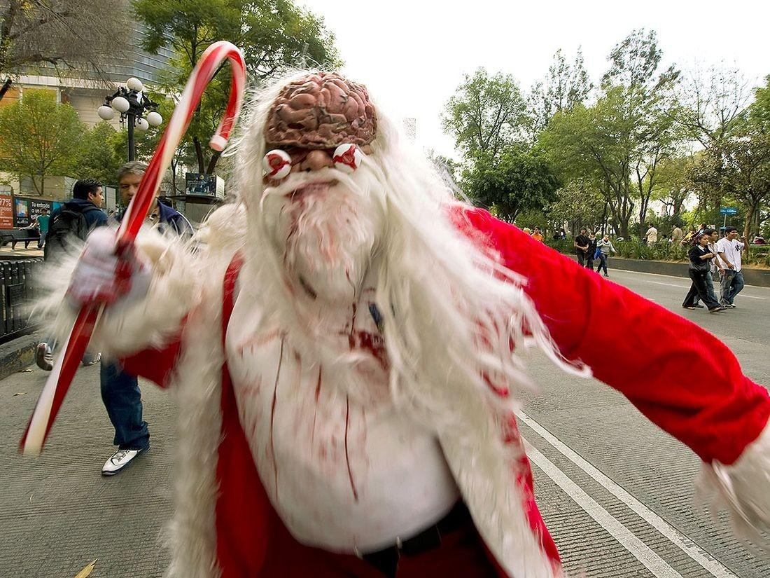 Babbo Natale Brutto.Nessuno Tocchi Babbo Natale